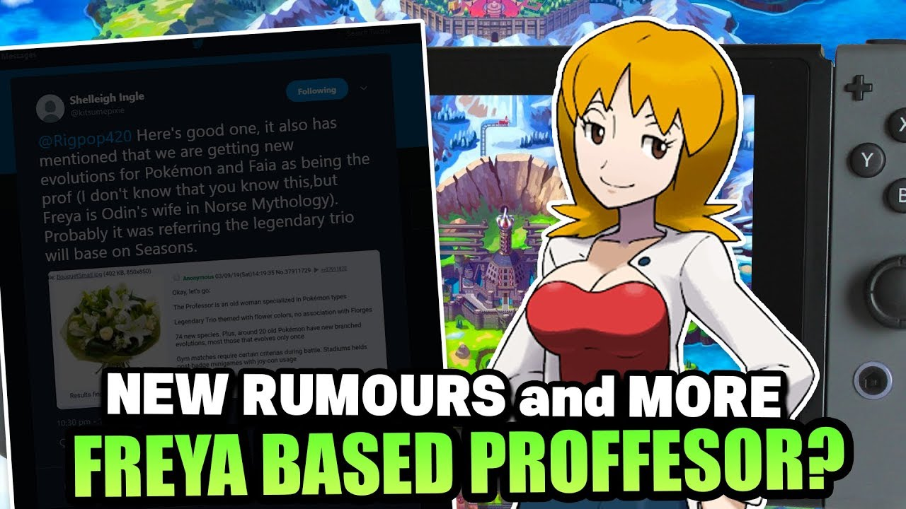 New Rumours For Pokemon Sword And Pokemon Shield Proffesor Based On