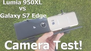 Lumia 950XL vs Galaxy S7 Video Camera Test - Side by Side