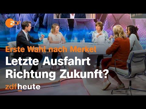 Erste Wahl nach Merkel – letzte Ausfahrt Richtung Zukunft? | maybrit illner vom 16.09.2021
