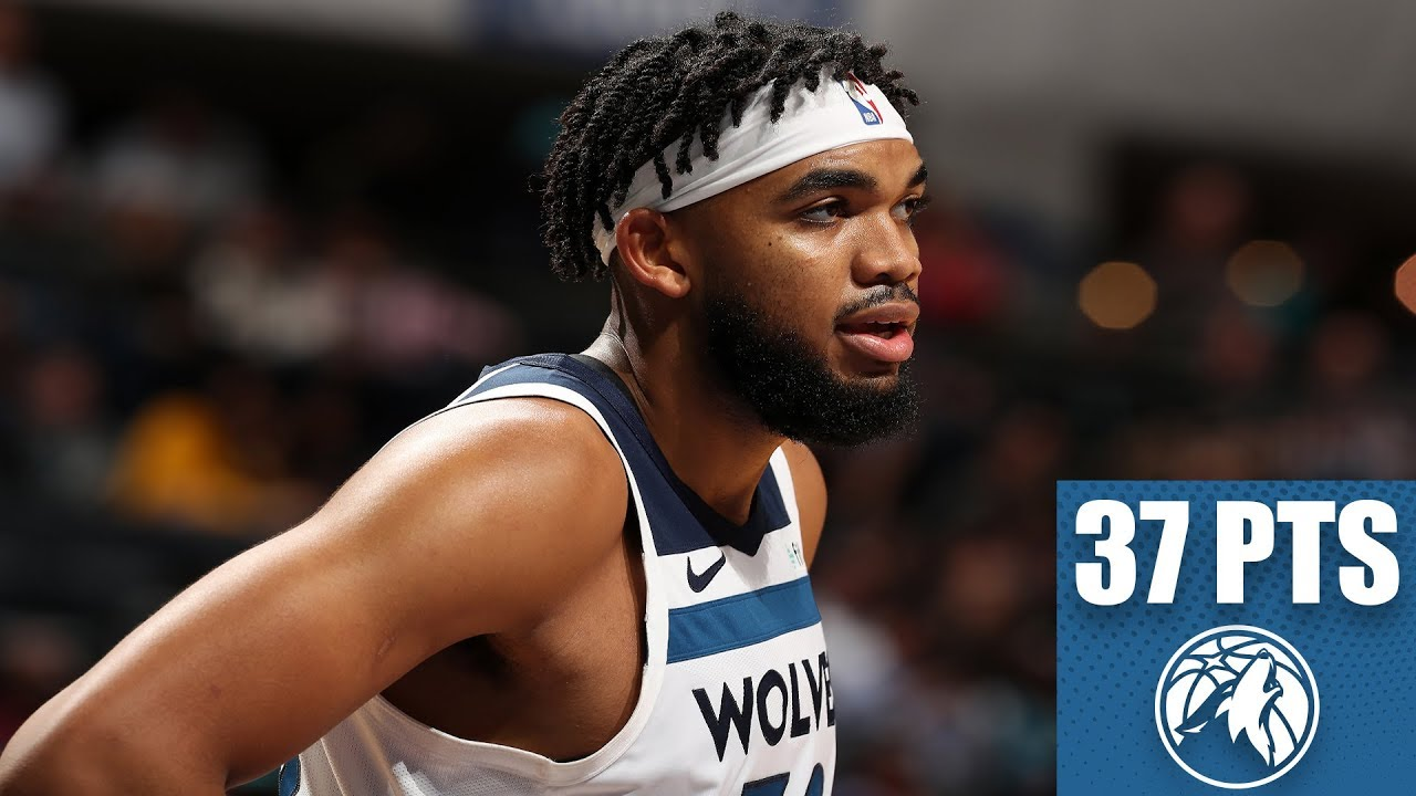 Karl Anthony Towns Leads Timberwolves To Victory With 37 Points Vs Hornets 2019 20 Nba Highlights Youtube