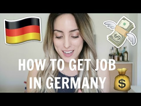 HOW TO FIND A JOB IN GERMANY! (No German/...