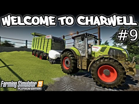 WELCOME TO CHARWELL! | FILLING UP THE BUNKER WITH GRASS SILAGE! | FARMING SIMULATOR 19