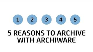 5 Reasons to Archive with Archiware P5