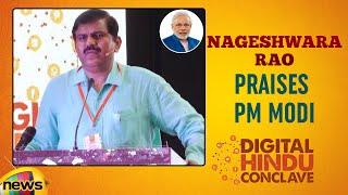 Nageshwara Rao Praises PM Modi | Digital Hindu Conclave LIVE | Bharat Niti | Hyderabad | Mango News