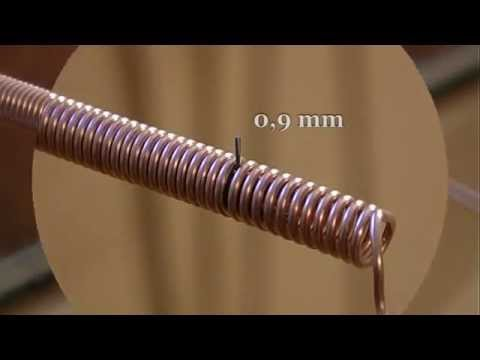 Copper coils maker