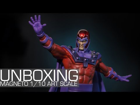 Unboxing - Marvel Comics Magneto 1/10 Art Scale Iron Studios