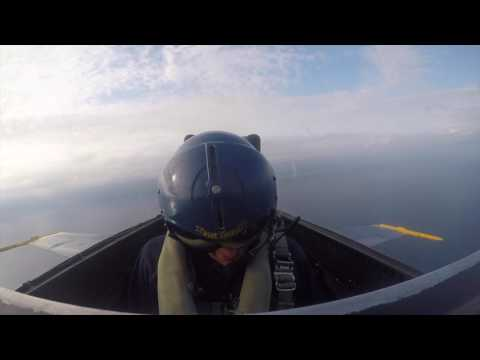 News Reporter Passes Out In Blue Angels Jet