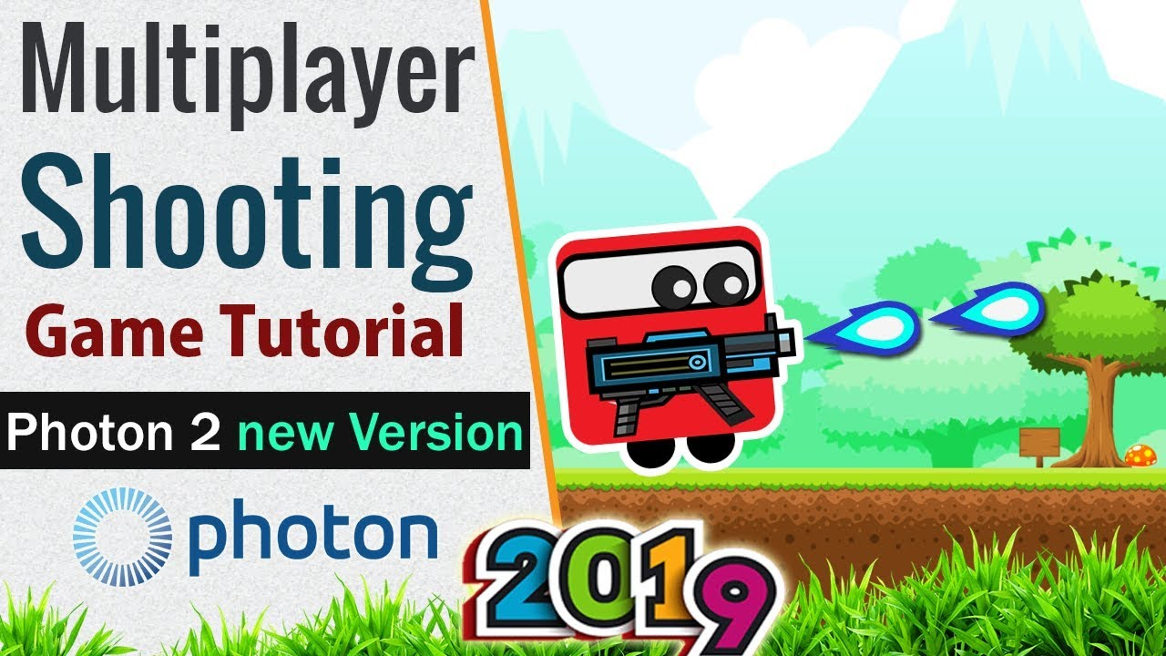 Unity Multiplayer Photon 2 Tutorial (2019) [01]