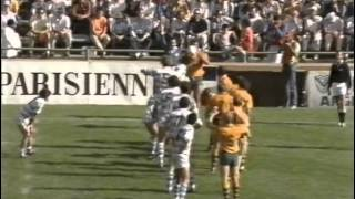 1987 Rugby Union Test Match: Australia Wallabies vs Argentina Pumas (2nd Test)