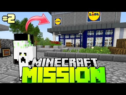 1 ARBEITSTAG BEI LIDL?! - Minecraft Mission [Deutsch/HD]