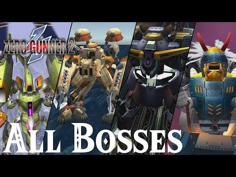 Zero Gunner 2 // All Bosses