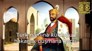 Timur'un Huzurunda - Özbekçe Turan Şiiri (Altyazılı)
