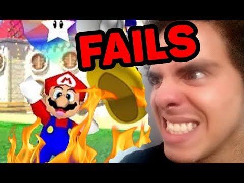 Super Mario 64: Shining Stars - FAILS