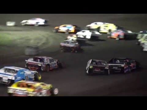 IMCA Sport Mod feature Benton County Speedway 5/15/16