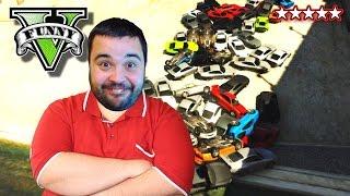GTA 5 Funny Moments Destruction Derby Con J0k3R Dexter Bstaaard