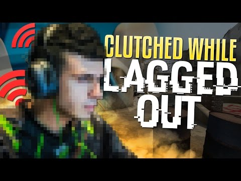 CLUTCHED WHILE LAGGED OUT - tarik's Stream Shenanigans #4