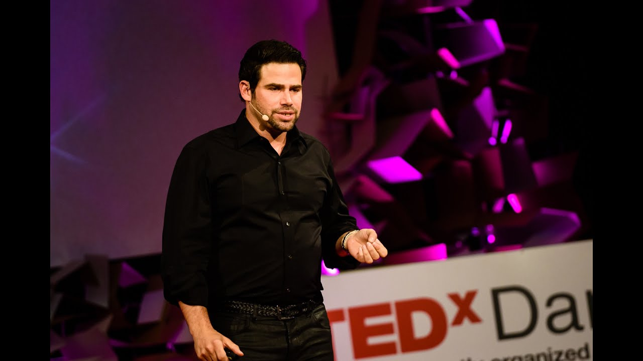 This is a thumbnail link for the 'How Technology Eats Bureaucracy | Leerom Segal & Jay Goldman | TEDxDanubia' video