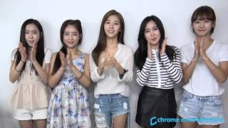 A Message from Crayon Pop (크레용팝)