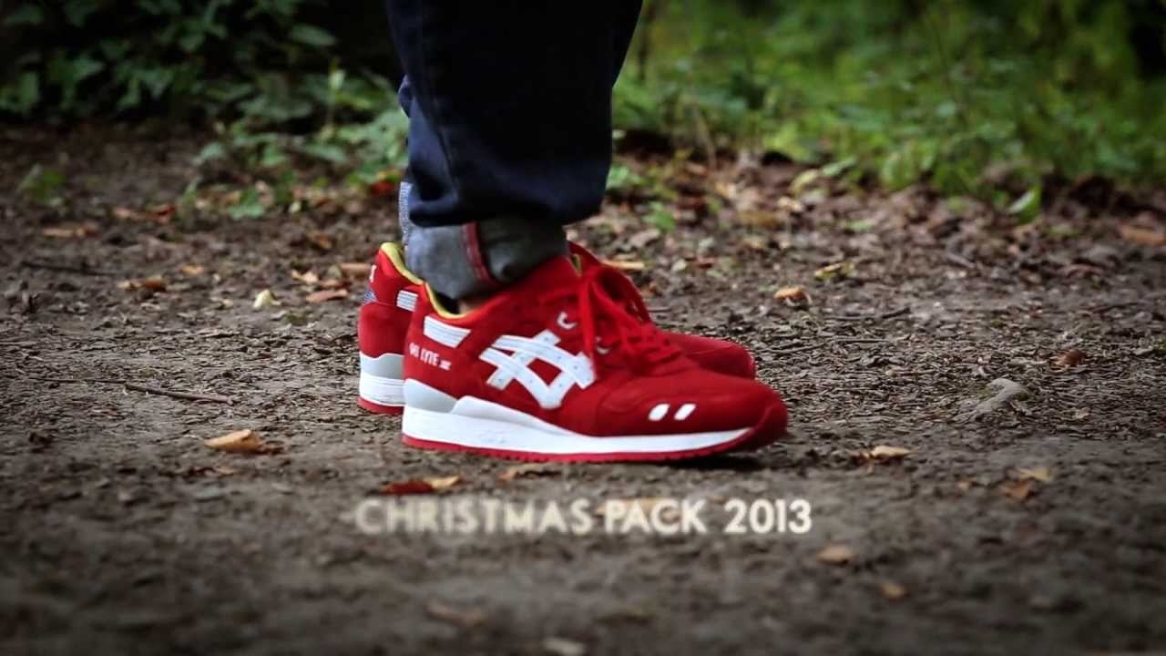 Asics - Christmas Pack - Gel-Lyte III   GT II   Gel Saga - YouTube 0005fb429b