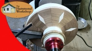 Woodturning A Segmented Vase / Vessel pt. 3