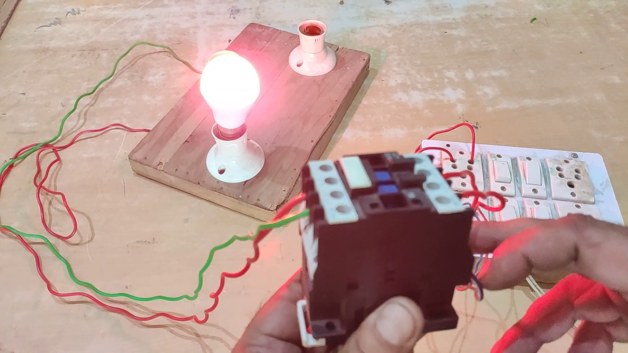 Contactor - what is contactor | working of electric contactor | My Experiment