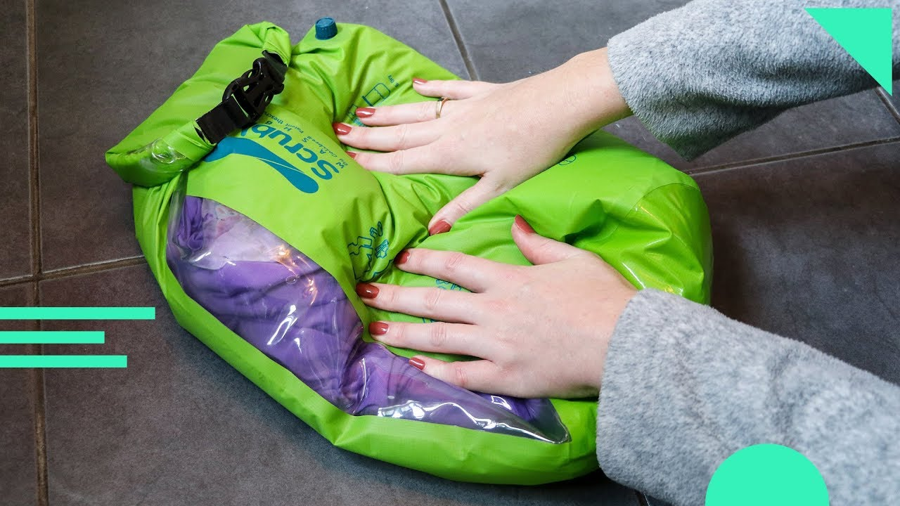 Scrubba Wash Bag Review How To Use And Your Clothes While Traveling