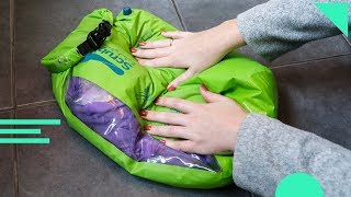 Scrubba Wash Bag Review | How To Use And Wash Your Clothes While Traveling