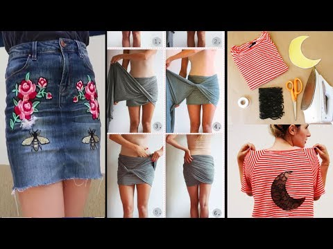 DIY Clothes Life Hacks Tutorials That Will Make Your Life Better - BEST DIY IDEAS FOR OLD CLOTHES