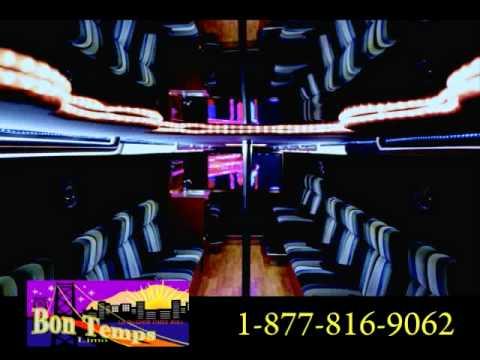Lafayette Limo Party Bus Rental Limousine