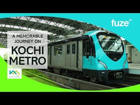 KOCHI METRO | Aluva to Palarivattom | Full Journey | Fuze HD