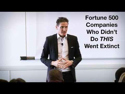 Fortune 500 Companies Who Didn't Do This Went Extinct - - Justin Cohen,  Bestselling Author.