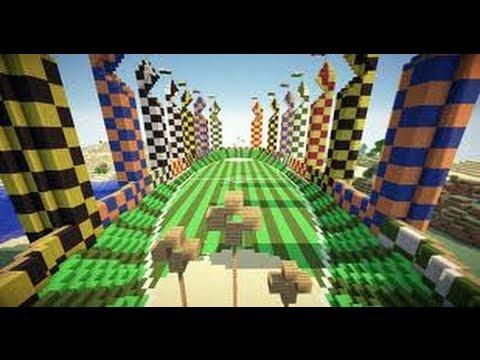 Minecraft The Quidditch Mod 1 6 2 Youtube