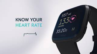 Live your best life with fitbit versa - a health & fitness smartwatch that last 4+days featuring 24/7 heart rate, phone-free music, apps, coaching more.