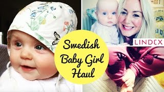 Gorgeous Baby Girl Clothes Haul | Summer Bonnets & Flower Garlands | Lindex