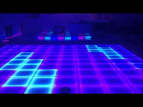 Custom Build Led Dance Floor Royal Palace Banquet Hall