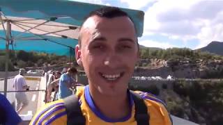Bungee Jumping From the Highest Bridge of Europe 182 m