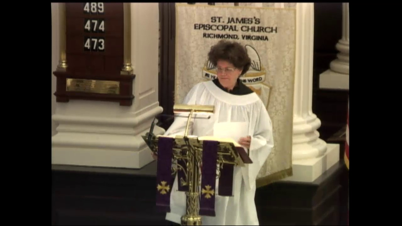 holy eucharist rite ii at the 9 am service march 12 at