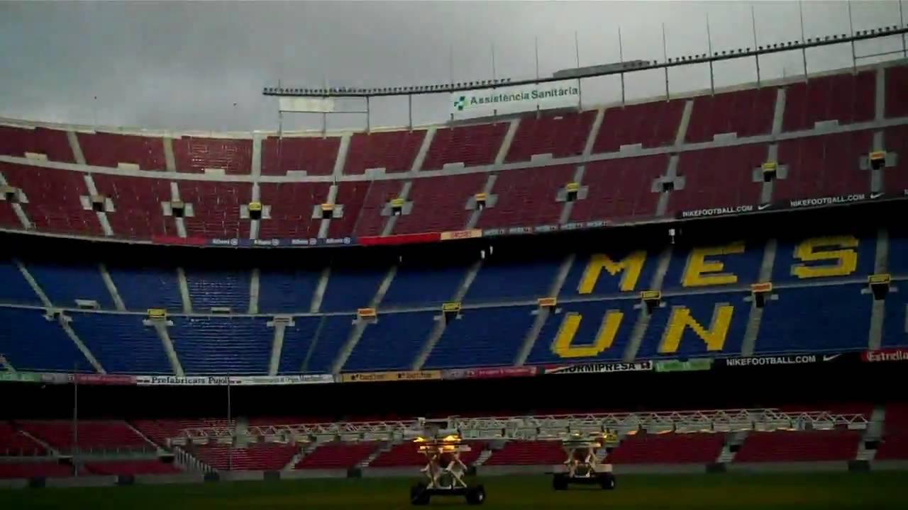 Fc Barcelona Desktop Wallpaper Hd Official Tour Camp Nou Stadium Barcelona February 2010 Hd