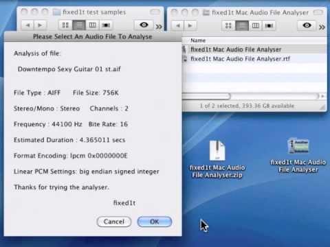 Identifying Damaged Sample Audio Files Using fixed1t Audio File ...