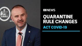 ACT government flags new quarantine rules for causal contacts from next week | ABC News