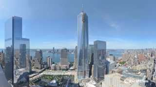 NYC Freedom Tower Official One World Trade Center Time Lapse From 2004 to September 2013   YouTube