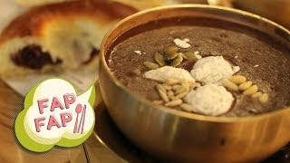 Korean Red Bean Porridge