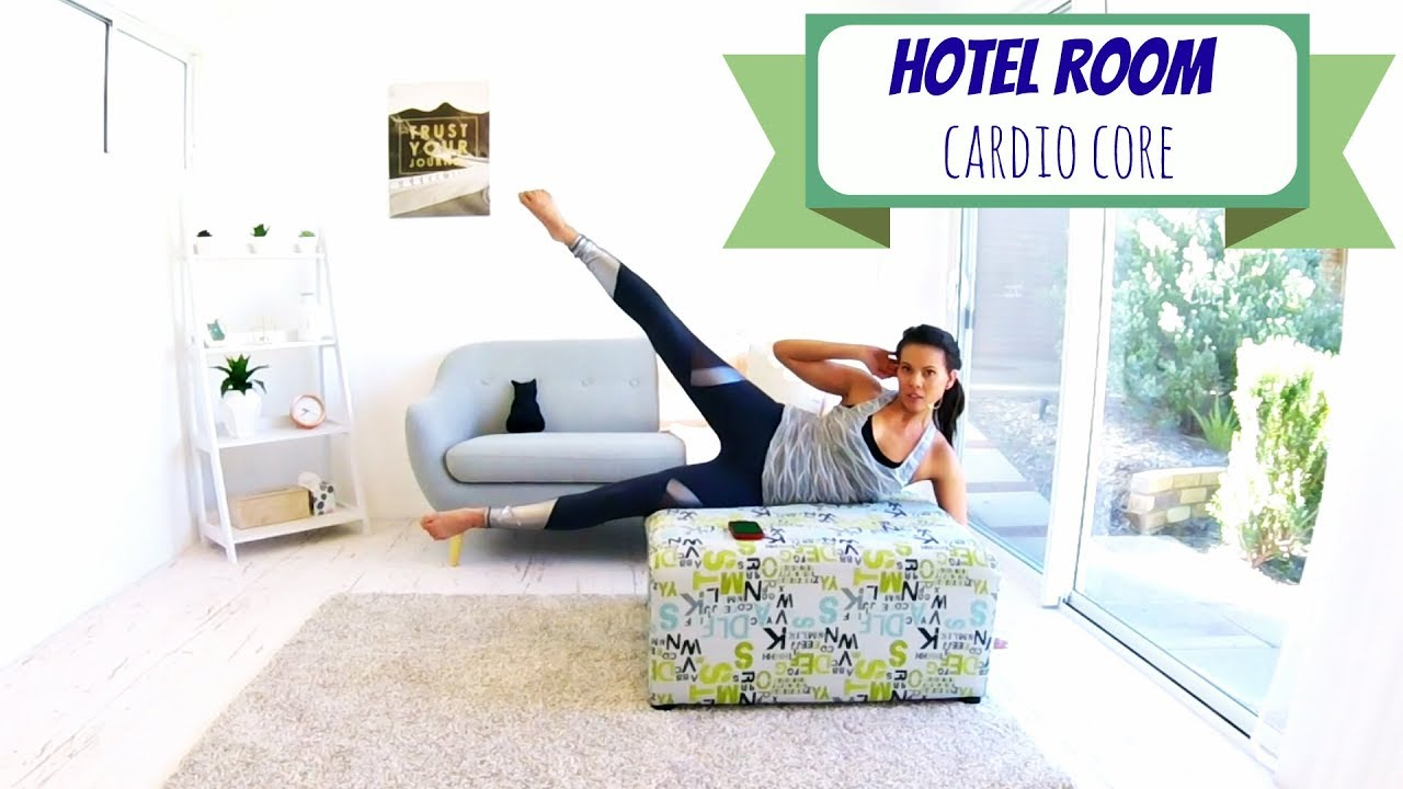 Cardio Core Abs Workout - BARLATES BODY BLITZ Hotel Room Cardio Core ...