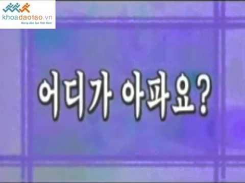 Cùng học tiếng Hàn Quốc bai 40 P2