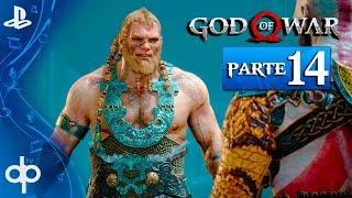 GOD OF WAR 4 Parte 14 Los Hijos de THOR - MAGNI y MODI  | Gameplay Español PS4 PRO (God of War 2018)