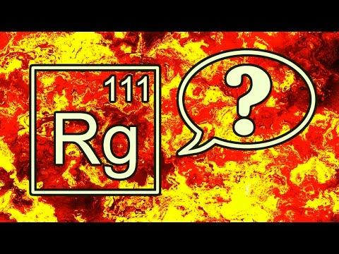 All Chemical Elements · Symbols, Names and Pronunciations