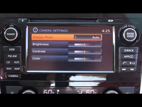 2015 Nissan Altima -  RearView Monitor With Moving Object Detection (if So Equipped)