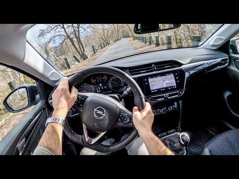 Opel Corsa F 2020 4k Pov Test Drive 430 Joe Black Youtube