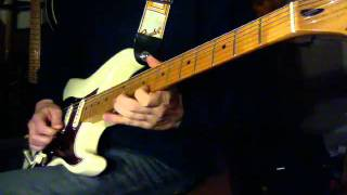 Robert Cray - Right Next Door (cover, Jimmie Vaughan Stratocaster)