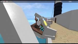 Lifeboat VS Cruise Ship! | Sinking Ship Simulation | Roblox